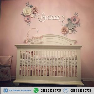 Box Bayi Cat Duco Warna Putih